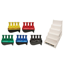 FNT10-3798 - Fabrication EnterprisesDigi-Flex LITE® - Set of 5 (1 Each: Yellow, Red, Green, Blue, Black) with Plastic Stand