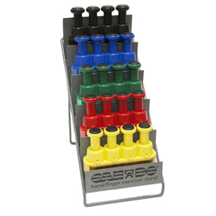 FNT10-3799 - Fabrication EnterprisesDigi-Flex LITE® - Set of 5 (1 Each: Yellow, Red, Green, Blue, Black) with Metal Stand