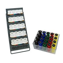 FNT10-3841 - Fabrication EnterprisesDigi-Flex Multi Small Clinic Pack, Standard (5 Bases Plus 20 Button Set w/Rack)