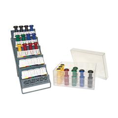 FNT10-3842 - Fabrication Enterprises - Digi-Flex Multi® - 5 Frame Clinic Pack - 5 Frames, 20 Buttons (4 Each Yellow Through Black)