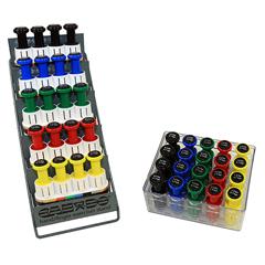 FNT10-3846 - Fabrication EnterprisesDigi-Flex Multi Large Clinic Pack, Standard (5 Pre-Built Multis Plus 20 Button Set w/Rack)