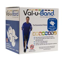FNT10-6124 - Fabrication Enterprises - Val-u-Band® - Latex Free - 50 Yard - Blueberry (Level 4/7)