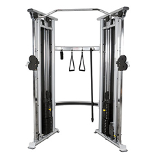 FNT10-7147 - Fabrication EnterprisesInflight®2-stack functional trainer with 4:1 weight ratio kit