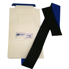 FNT11-1240 - Fabrication Enterprises - Relief Pak® Insulated Ice Bag - Hook/Loop Band - Large - 7 x 13