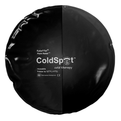 FNT11-1257 - Fabrication Enterprises - Relief Pak® Coldspot™ Black Urethane Pack - Circular - 10 Diameter