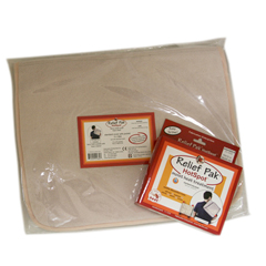 FNT11-1300 - Fabrication Enterprises - Relief Pak® Hotspot® Moist Heat Pack and Cover Set - Standard Pack with Terry with Foam-Fill Cover