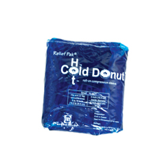 FNT11-1531-12 - Fabrication Enterprises - Relief Pak® Cold n Hot® Donut® Compression Sleeve - Small (For 4 - 10 Circumference), Dozen
