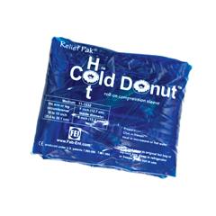 FNT11-1532-12 - Fabrication Enterprises - Relief Pak® Cold n Hot® Donut® Compression Sleeve - Medium (For 10 - 15 Circumference), Dozen