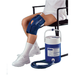 FNT11-1574 - Fabrication Enterprises - Knee Cuff Only - Large - for AirCast® CryoCuff® System