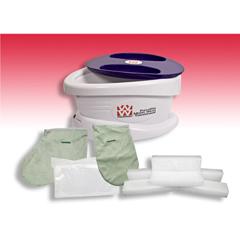 FNT11-1607 - Fabrication Enterprises - WaxWel® Paraffin Bath - Standard Unit Includes: 100 Liners, 1 Mitt, 1 Bootie and 6 lb. Rose Paraffin