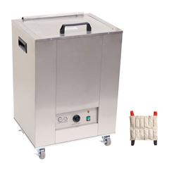 FNT11-1975 - Fabrication Enterprises - Relief Pak Heating Unit, 12-Pack Capacity, Mobile with (12) Standard Packs, 220V