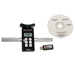 FNT12-0460WD - Fabrication Enterprises - Ergofet500™ Push-Pull Dynamometer - With Data Collection Software