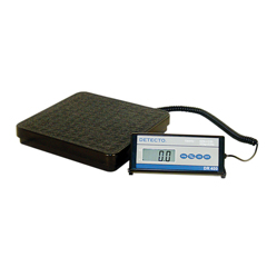 FNT12-1349 - Fabrication Enterprises - Detecto® Floor Scale - DR400C Digital 400 lb. / 175 kg - with Remote Indicator