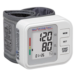 FNT12-2151 - Fabrication Enterprises - Wristwatch - Blood Pressure and Pulse Monitor