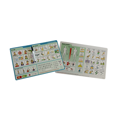 FNT12-4640 - Fabrication Enterprises - EZ Communication Board, Picture Board