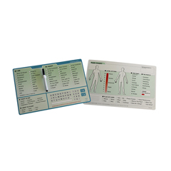 FNT12-4641 - Fabrication Enterprises - EZ Communication Board, English Word Board