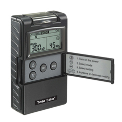 FNT13-1348 - Fabrication EnterprisesDigital 2-Channel EMS/Tens Unit, Portable/Battery, Complete
