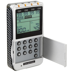 FNT13-1349 - Fabrication EnterprisesDigital 4-Channel EMS/Tens Unit, Portable/Battery or AC Adapter, Complete