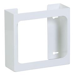 FNT13-3472 - Fabrication Enterprises - Clinton, Glove Box Holder, Double White Steel