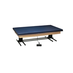 FNT15-2083B - Fabrication Enterprises - Deluxe Electric Hi-Lo Mat Table w/mat, 7 x 5, 220V, Crated