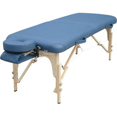 FNT15-3732 - Fabrication EnterprisesDeluxe Massage Table, 76 L x 30 W x 23 - 33 H