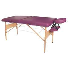 FNT15-3732BUR - Fabrication Enterprises - Deluxe Massage Table, 30 X 73, Burgundy
