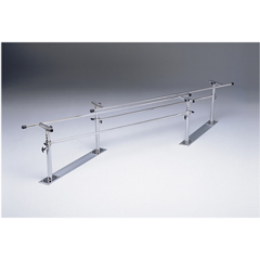FNT15-4004 - Fabrication Enterprises - Parallel Bars, Steel Base, Folding, Height And Width Adjustable, 7 L X 16 - 24 W X 22 - 36 H