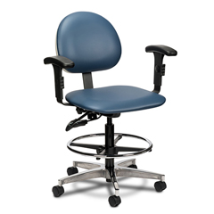 FNT15-4480 - Fabrication Enterprises - Clinton, Lab Chair Tilting Seat, Arms