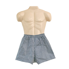 FNT20-1001 - Fabrication EnterprisesDipsters® Patient Wear, Mens Boxer Shorts, Medium - Dozen