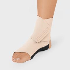 FNT24-2087 - Fabrication Enterprises - ReadyWrap Foot SL, Long, Left Foot, Black, Large