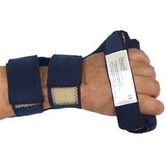 FNT24-3040L - Fabrication Enterprises - Comfy Splints™ C-Grip Hand - Adult Small - Left