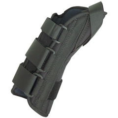 FNT24-4576L - Fabrication Enterprises - 8 Soft Wrist Splint Left, Small 6-7 with Abducted Thumb
