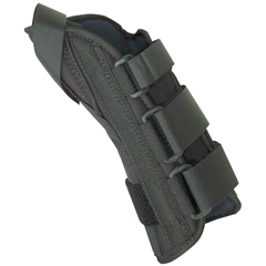 FNT24-4577R - Fabrication Enterprises - 8 Soft Wrist Splint Right, Medium 6.5-8 with Abducted Thumb