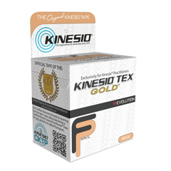 FNT24-4870-6 - Fabrication Enterprises - Kinesio® Tape, Tex Gold Fp, 2 x 5.5 Yds, Beige, 6 Rolls