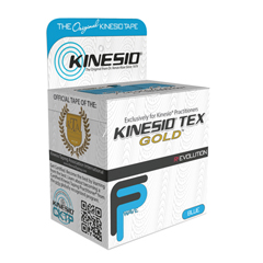 FNT24-4871-6 - Fabrication EnterprisesKinesio® Tape, Tex Gold Fp, 2 x 5.5 Yds, Blue, 6 Rolls