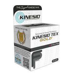 FNT24-4873-6 - Fabrication Enterprises - Kinesio® Tape, Tex Gold Fp, 2 x 5.5 Yds, Black, 6 Rolls