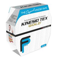 FNT24-4881 - Fabrication Enterprises - Kinesio® Tape, Tex Gold Fp, 2 x 34 Yds, Blue, Bulk Roll