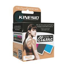 FNT24-4890-6 - Fabrication Enterprises - Kinesio® Tape, Tex Classic, 2 x 4.4 Yds, Beige, 6 Rolls