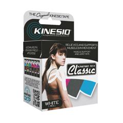 FNT24-4894 - Fabrication Enterprises - Kinesio® Tape, Tex Classic, 2 x 4.4 yds, White, 1 Roll