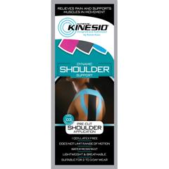 FNT24-4932-1 - Fabrication Enterprises - Kinesio® Tape pre-cuts, shoulder, each