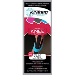 FNT24-4933-20 - Fabrication Enterprises - Kinesio® Tape Pre-Cuts, Knee, 20/Case