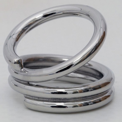 FNT24-6310 - Fabrication Enterprises - AFH Swan Neck Ring Splint, Stainless Steel, Circumference 72Mm