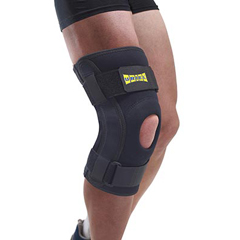 FNT24-9152 - Fabrication Enterprises - Uriel Hinged Knee Brace, Max Comfort, Medium