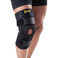 FNT24-9179 - Fabrication Enterprises - Uriel Neoprene Hinged Knee Brace, Universal Size