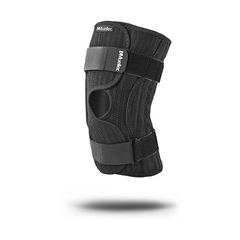 FNT24-9300 - Fabrication Enterprises - Mueller® Elastic Knee Brace, Black, Small/Medium