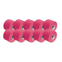 FNT25-3663-10 - Fabrication Enterprises - 3B Tape, 2 x 16.5 Ft, Pink, Latex-Free, Case of 10