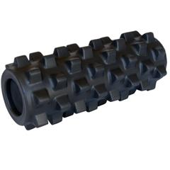 FNT30-2372 - Fabrication Enterprises - RumbleRoller®, 5 x 12, X-Firm, Black