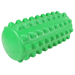 FNT30-4461G - Fabrication Enterprises - Actiroll Spiked Massage Roller, Short - 12 X 5 - Green