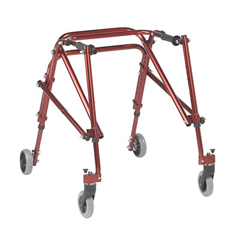 FNT31-3652R - Fabrication Enterprises - Nimbo posterior walker, youth, Castle Red