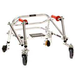FNT31-3690 - Fabrication Enterprises - Kaye Posture Rest Walker with Seat, Tyke